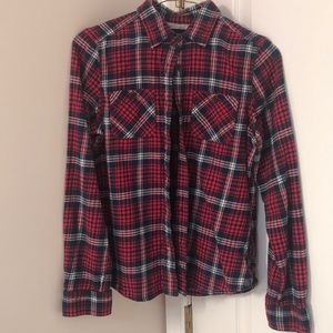 AEO cotton fitted flannel